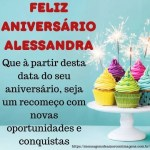 Feliz aniversario e parabens Alessandra