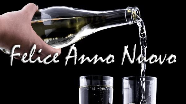 Felice Anno Nuovo - Feliz Ano Novo em Italiano