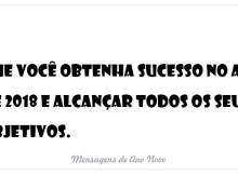 Que você obtenha sucesso