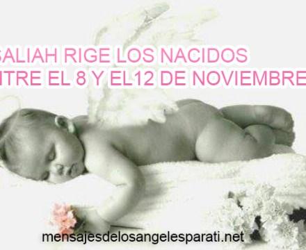 ASALIAH RIGE LOS NACIDOS ENTRE EL 8 Y EL12 DE NOVIEMBRE