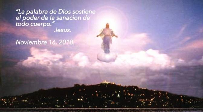 Noviembre 16- «El poder de la palabra de Dios»