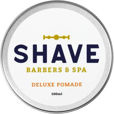 mejores productos belleza hombre shave barbers spa pomada pelo hombre fijadora moldeadora deluxe pomade 100 ml