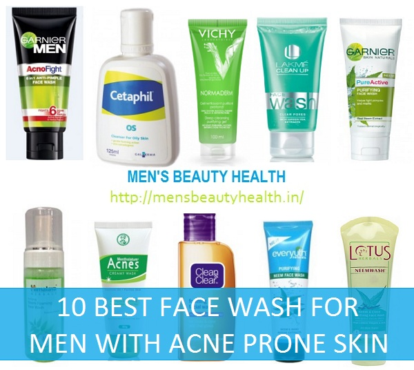 face wash for acne prone skin