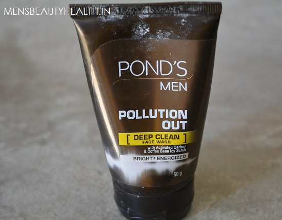 Pond's men pollution out face wash