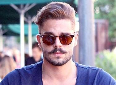 Image result for Balbo Beard Style For Narrow Chin Guys