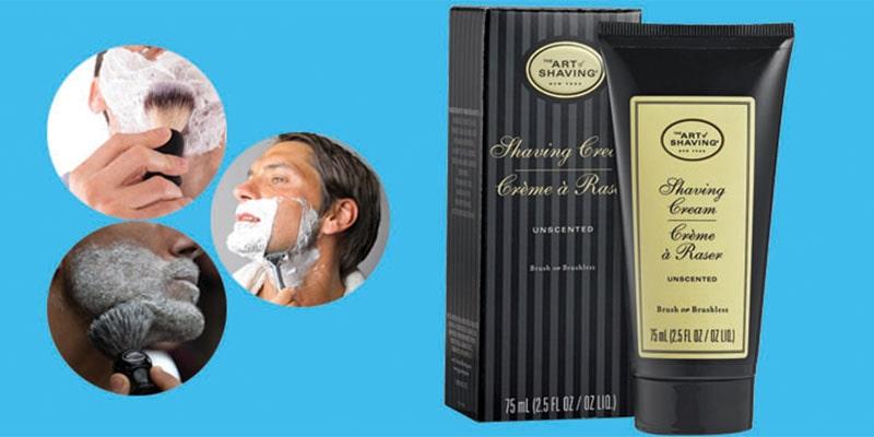 unscented shaving cream for sensitive skin