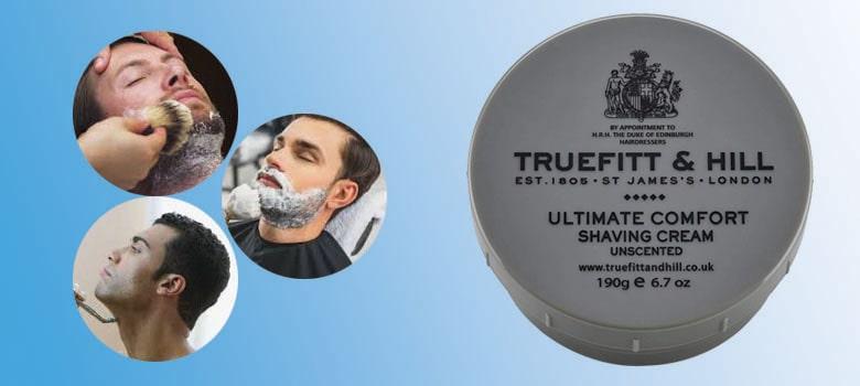 non aerosol Unscented shaving cream - travel size available