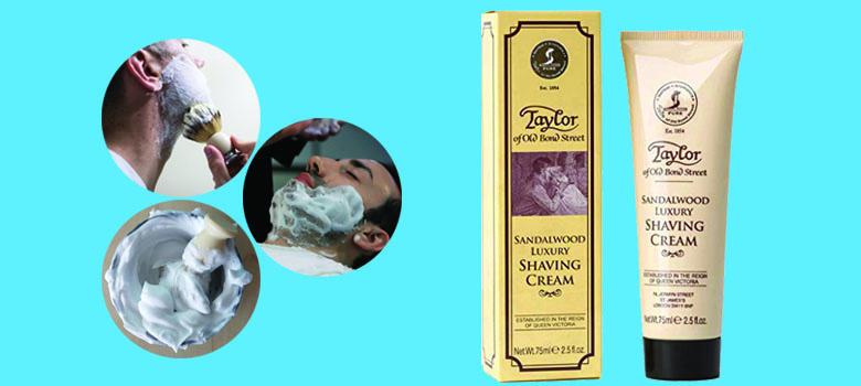 Taylor Of Old Bond Street Shaving Cream Sandalwood