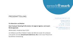Pressemeldung_Start_menschmark