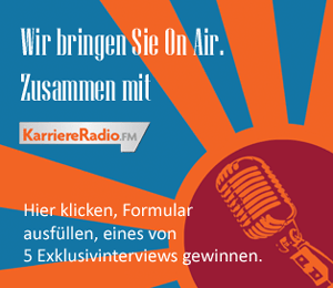 "Teaserbild zur aktuellen Aktion mit KarriereRadio.FM ""On Air"""
