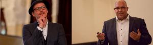 Oliver Mattern und Jan Willand in Ihrer Funktion als Vortragsredner