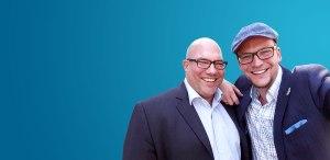 Die beiden Employer Branding Experten und Geschäftsführer von menschmark, Oliver Mattern und Jan Willand