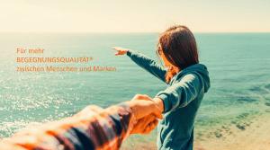 """Titelbild """"Für mehr Begegnungsqualität zwischen Menschen und Marken"""""""