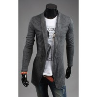 men's long cardigan|men's long shawl cardigan