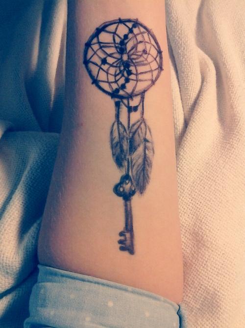 Forearm Dream Catcher Tattoo : forearm, dream, catcher, tattoo, Dream, Catcher, Tattoo, Forearm, Anime, Mania