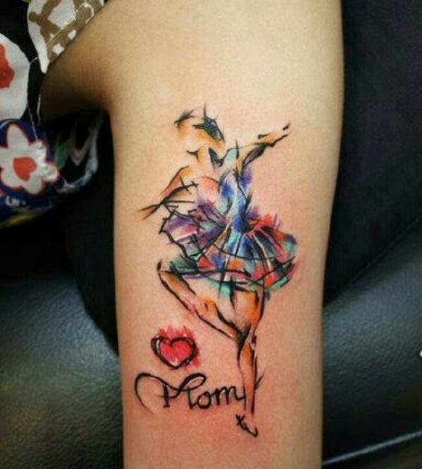 latest watercolor tattoos design