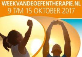 week van de oefentherapie houdingscheck