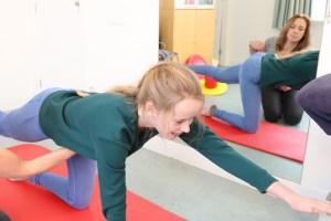 Stabiliteitstraining bij evenwichtsoefening