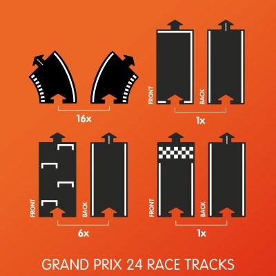 Waytoplay Grand Prix 24 delen