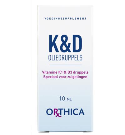 Orthica K&D oliedruppels