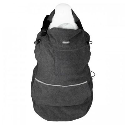 Hoppediz - Fleece Cover Basis - Antraciet