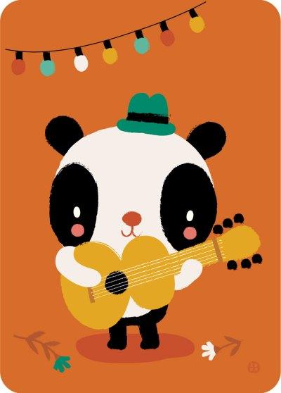 Bora kaart - Panda Songwriter