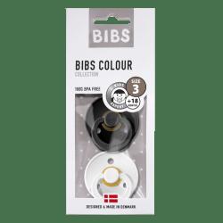 Bibs - Maat 3- Black/White 2-pack