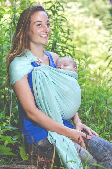 Pure Baby Love Ringsling Mint