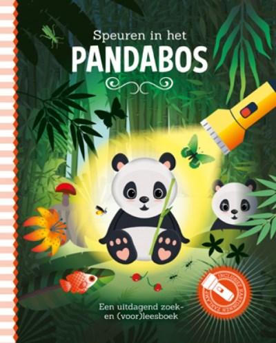 Lantaarn Zaklampboek Speuren in het pandabos
