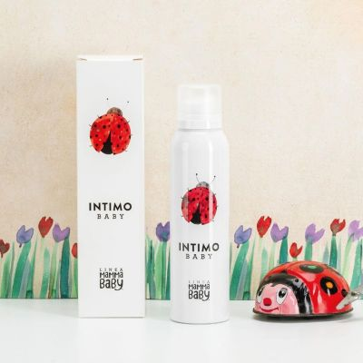 Linea MammaBaby Intimo baby cleansing mousse