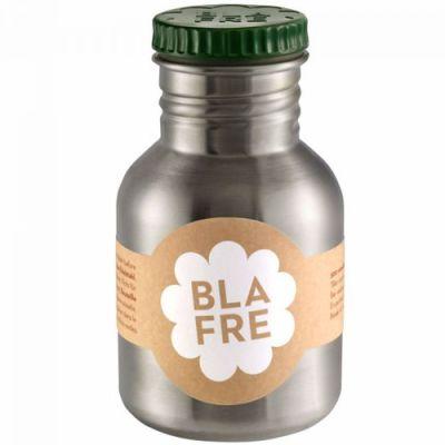 Blafre - Steel Bottle 300ml - Donkergroen