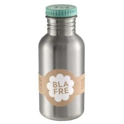 Blafre - Steel Bottle 500ml - Blauwgroen