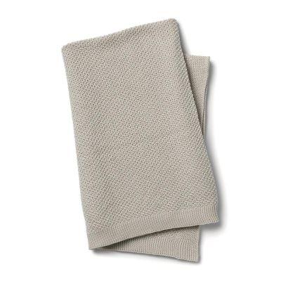 Elodie Deken Moss-Knitted Blanket
