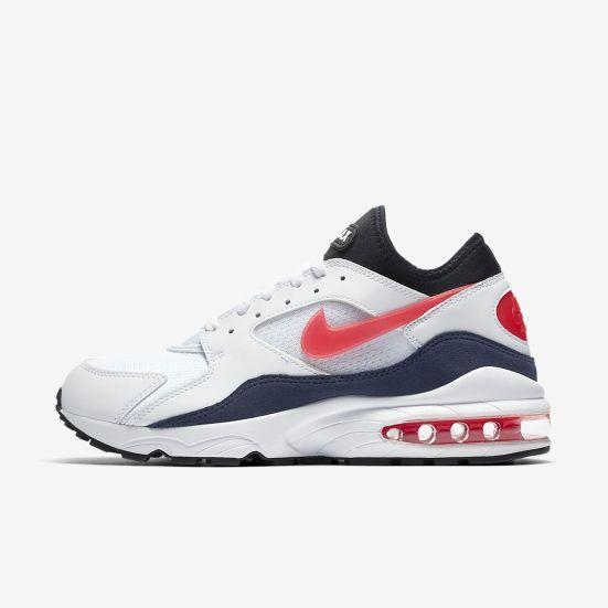 "Sneaker Release Alert – Nike Air Max 93 ""Flame Red"" – mensfashionneeds"