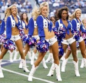 Dallas Cowboys Sexiest Cheerleaders 2013
