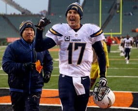 NFL Playoffs - Chargers Surprise Bengals; 49ers Win On Last-Second Field Goal