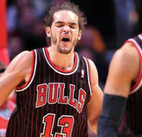 Bulls Center Joakim Noah Fires F-Bombs Instead Of Shots
