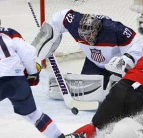 Canada Ends Team USA's Olympic Hockey Gold Medal Hopes