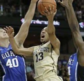 Wake Forest Upsets Duke In ACC Basketball Action