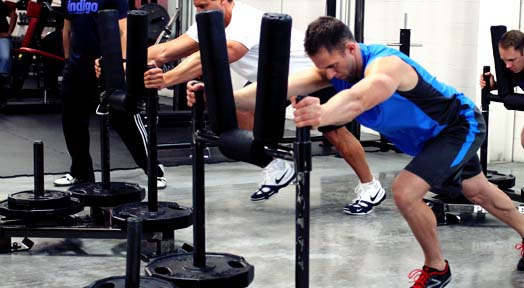The Prowler Push Workout