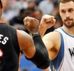 Blockbuster Trade Finally Happens; Kevin Love Now A Cavalier