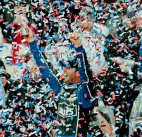 Jimmie Johnson Wins In Texas; Brawl Erupts