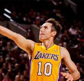 Lakers Point Guard Steve Nash Gets Himself Into Hot Water