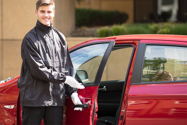 The Most Physically Demanding Jobs - Valet