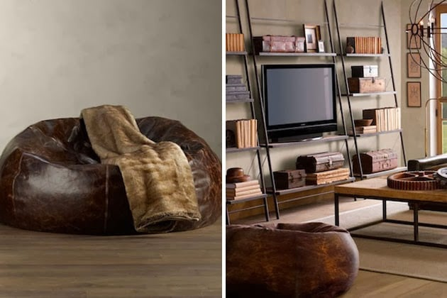 classy bean bag chairs diy accent chair distressed leather – men's gear