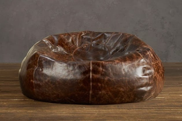 classy bean bag chairs herman miller fiberglass chair distressed leather | men's gear
