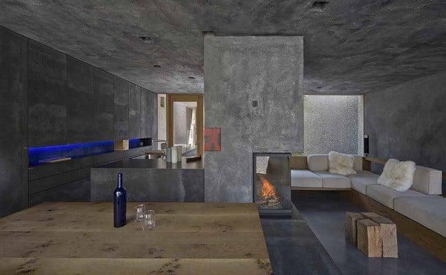 Concrete Bunker House in Switzerland  Mens Gear
