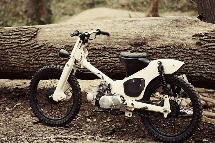 Honda C50 Custom Moped by 56 Motorcycles  Mens Gear