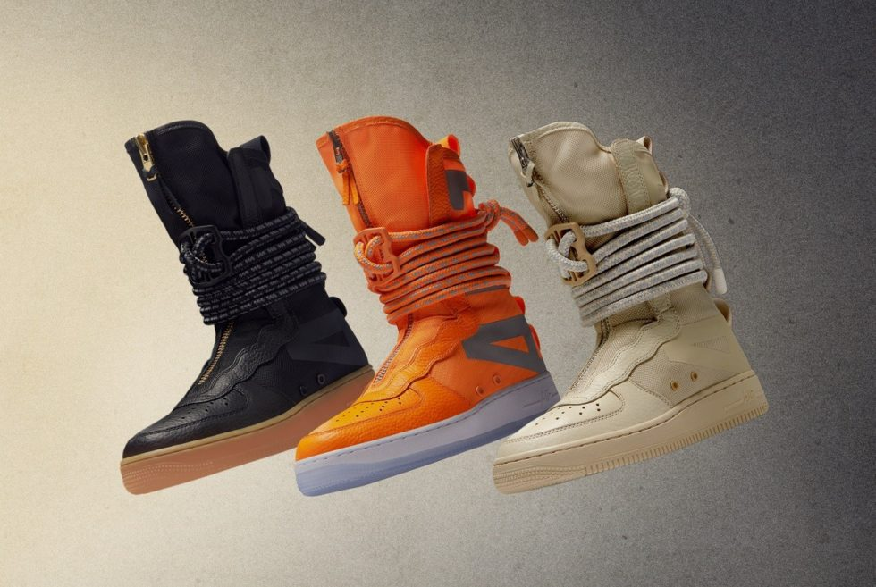 Orange Black Custom Forces Made Air And