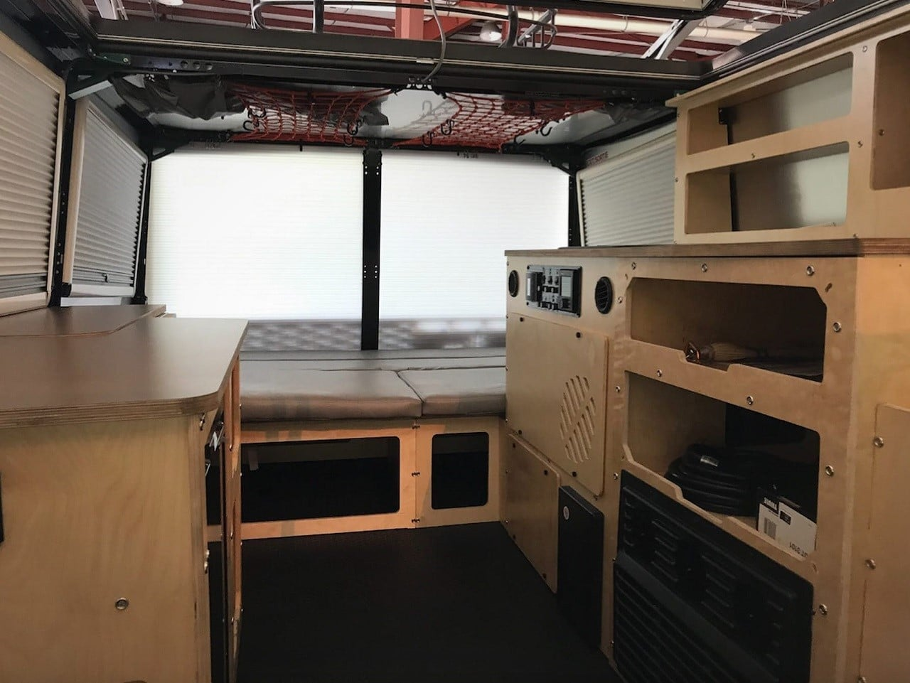 rear kitchen travel trailer quality brand cabinets taxa mantis camper   men's gear